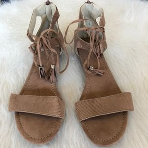 A.N.A Mini Wedge Sandals | Size 8.5